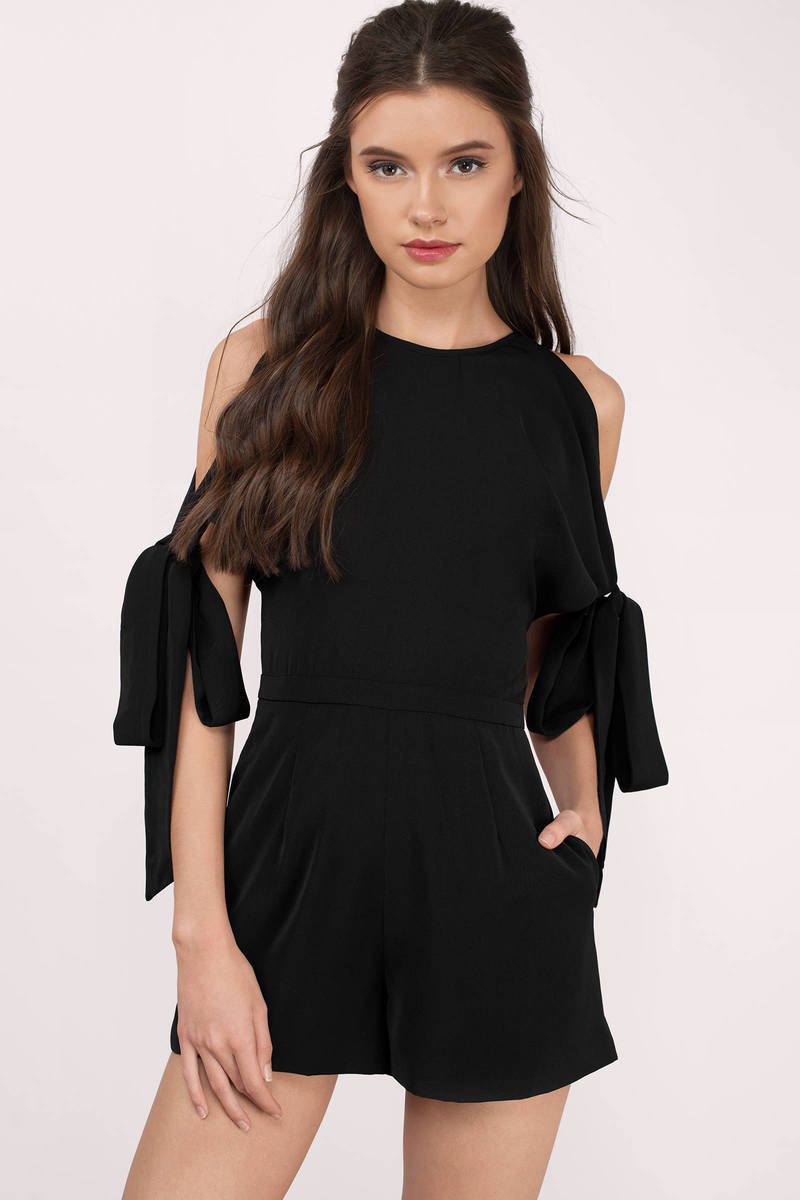 Keepsake Keepsake Two Minds Black Playsuit