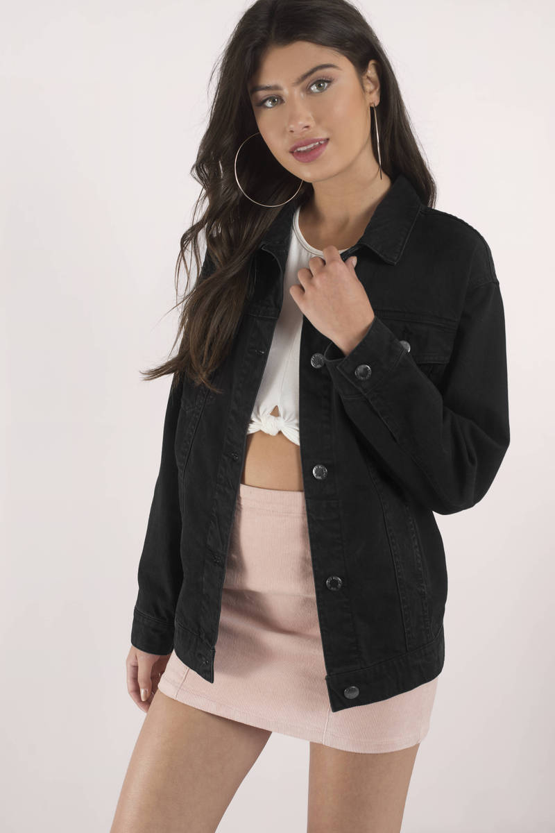 Cheap Monday Cheap Monday Upsize Black Denim Jacket