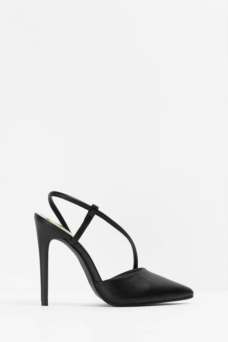Veni Black Heels