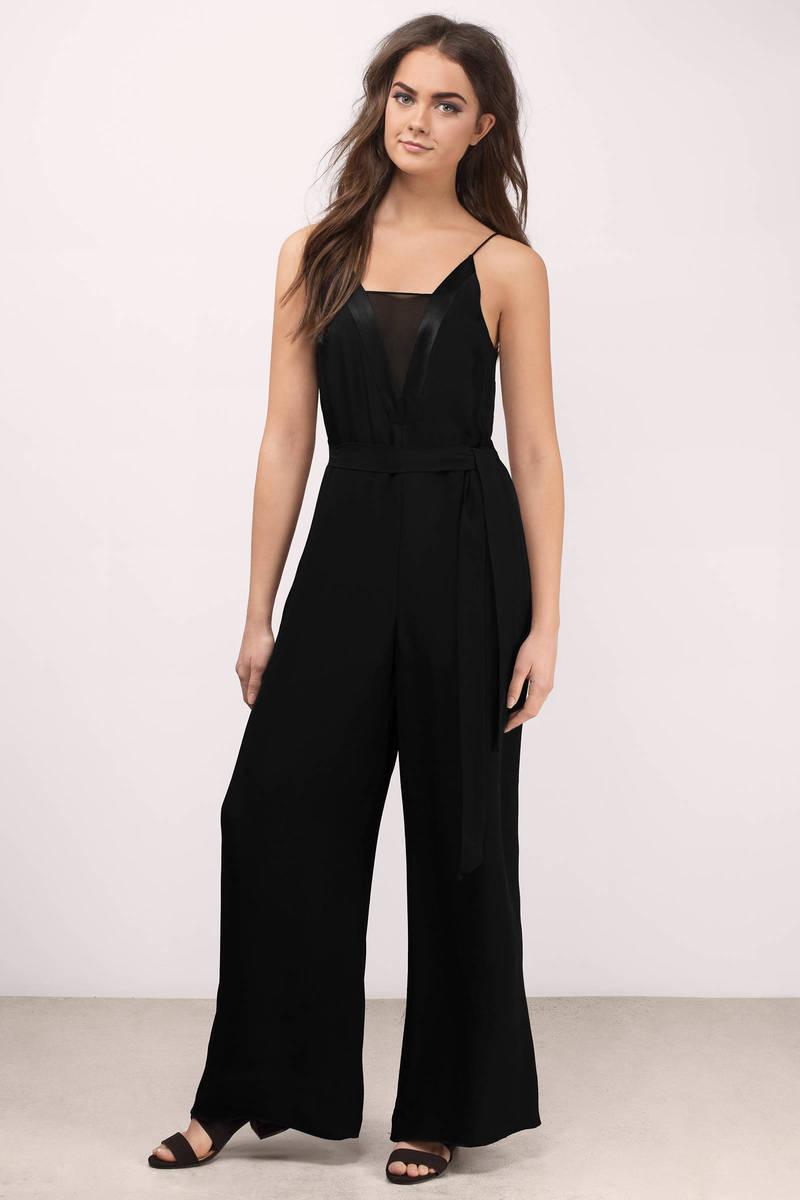 Cameo Vivid Black Jumpsuit