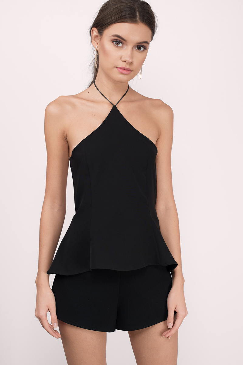 Cheap Black Tank Top