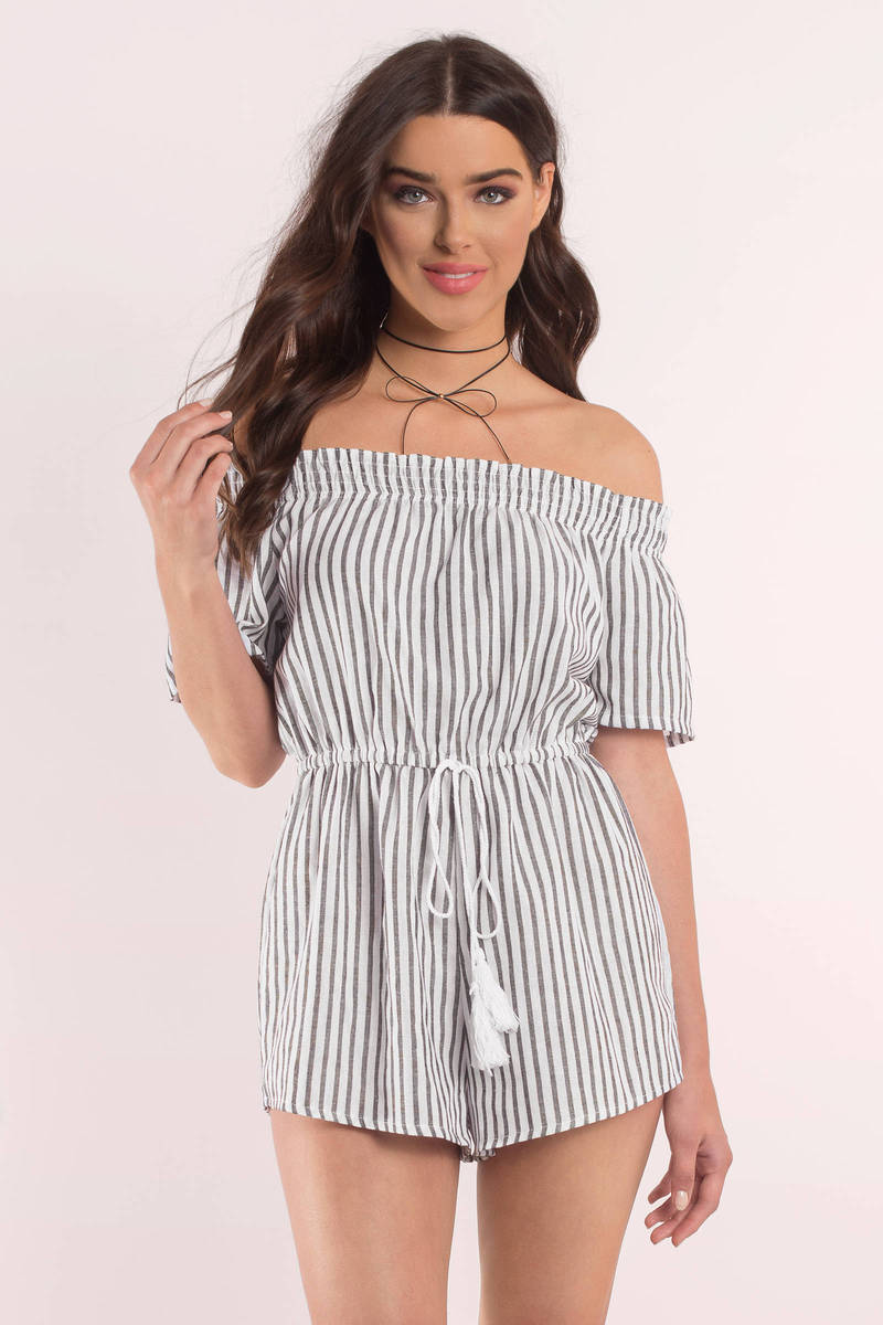 Weight Off Your Shoulders Light Blue Romper