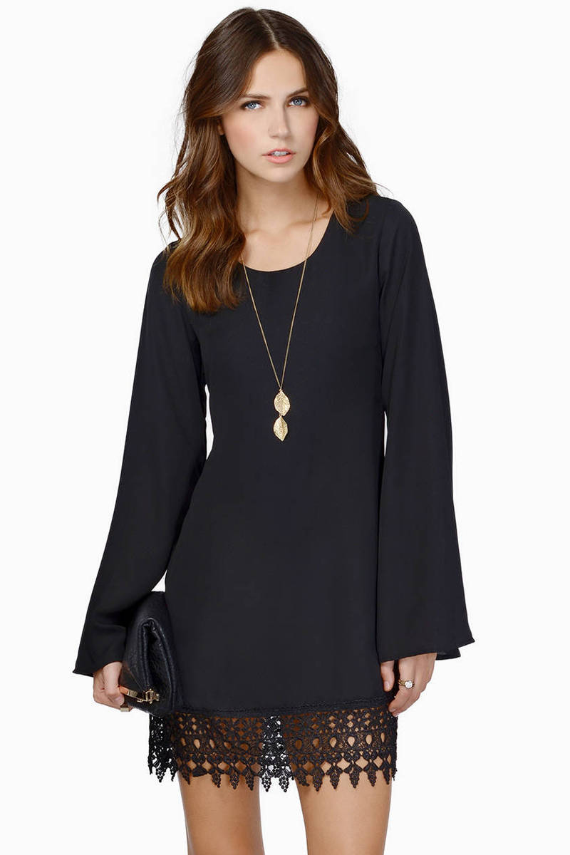 Whispering Willows Shift Dress