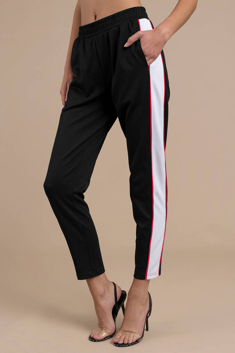 Black The Fifth Label Pants Track Pants Black Sporty
