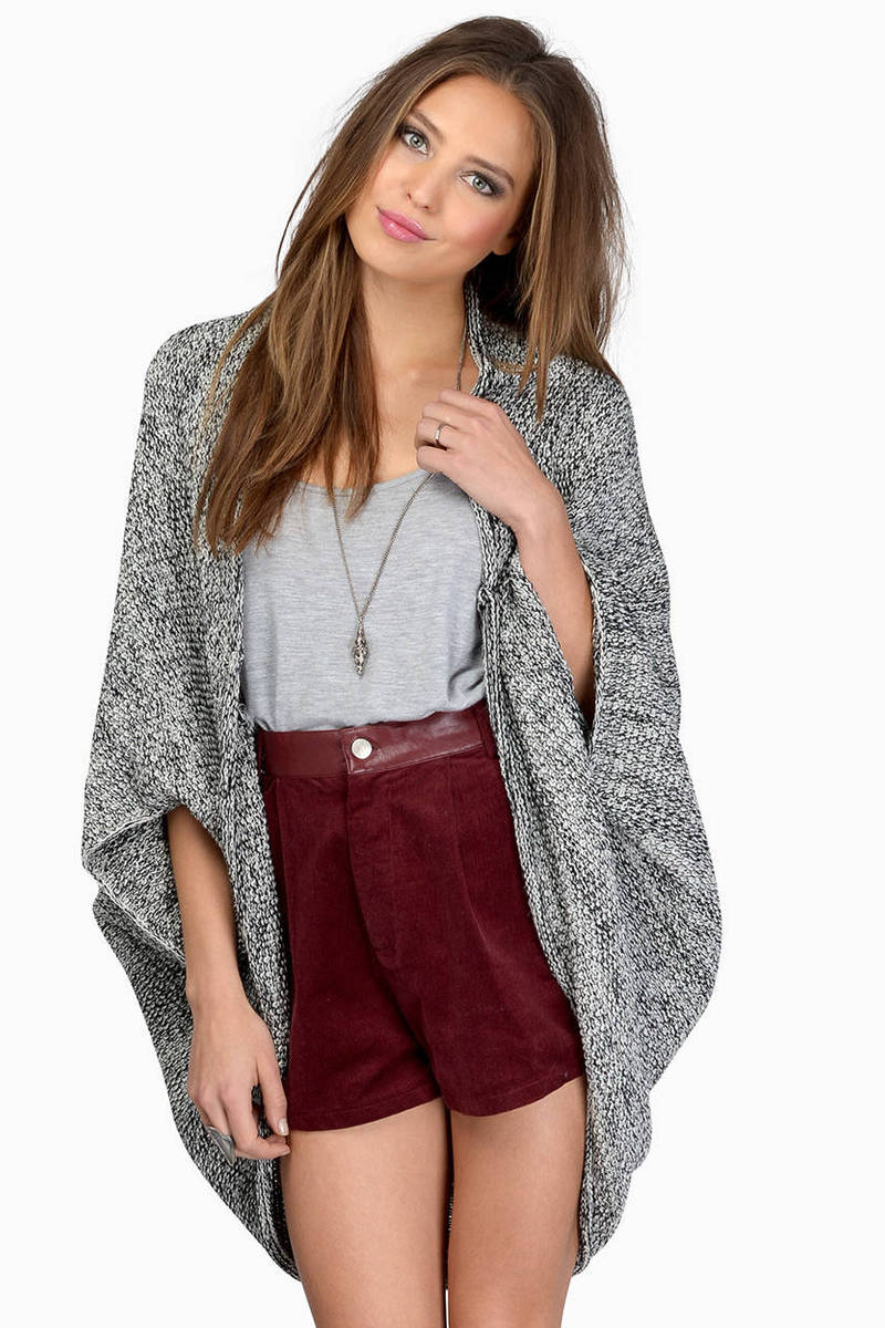 Heathered Out Cardigan