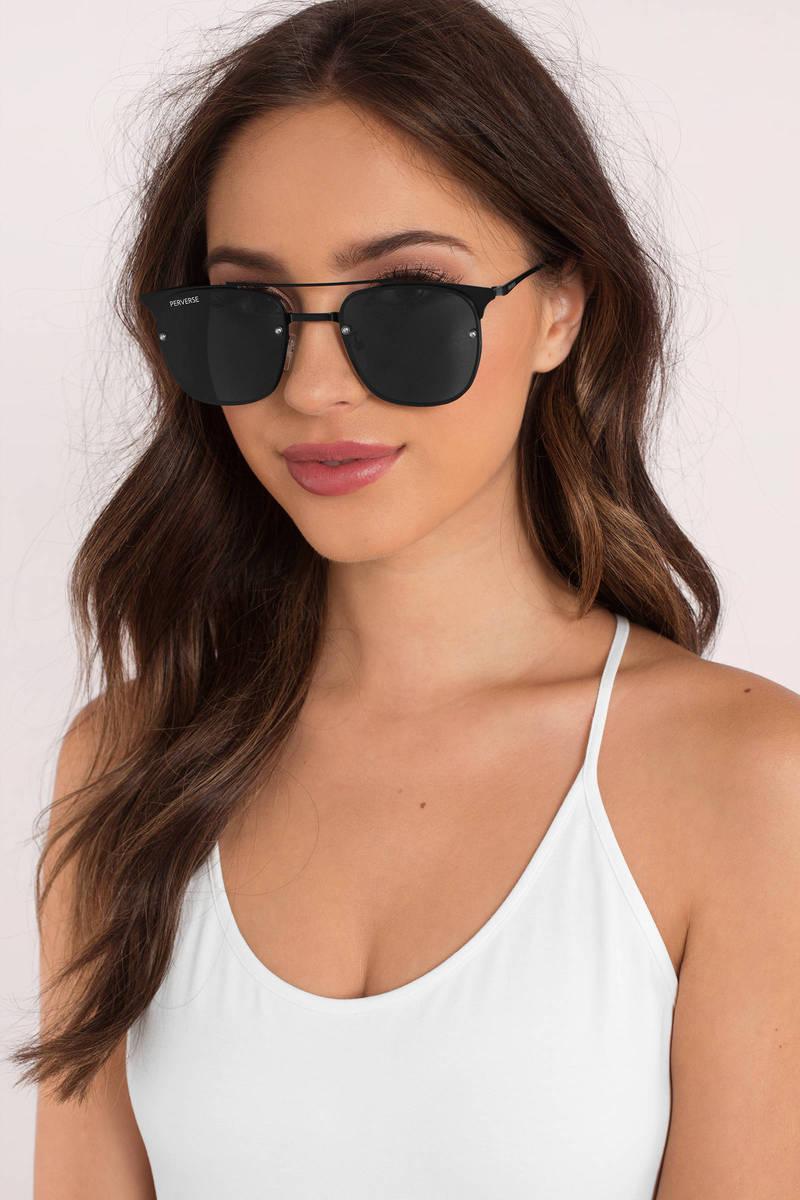 Perverse Sunglasses Will Black Wayfarer Sunglasses