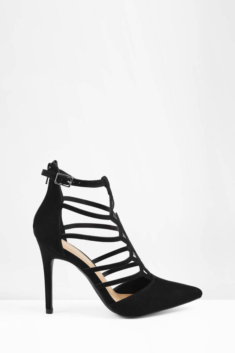 Black And White Stiletto Heels