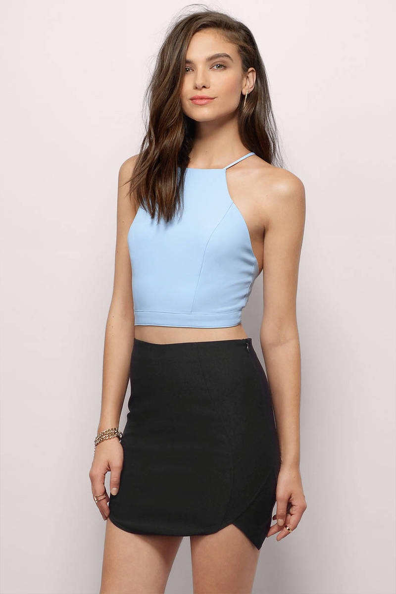 Your Place Or Mine Ivory Mini Skirt