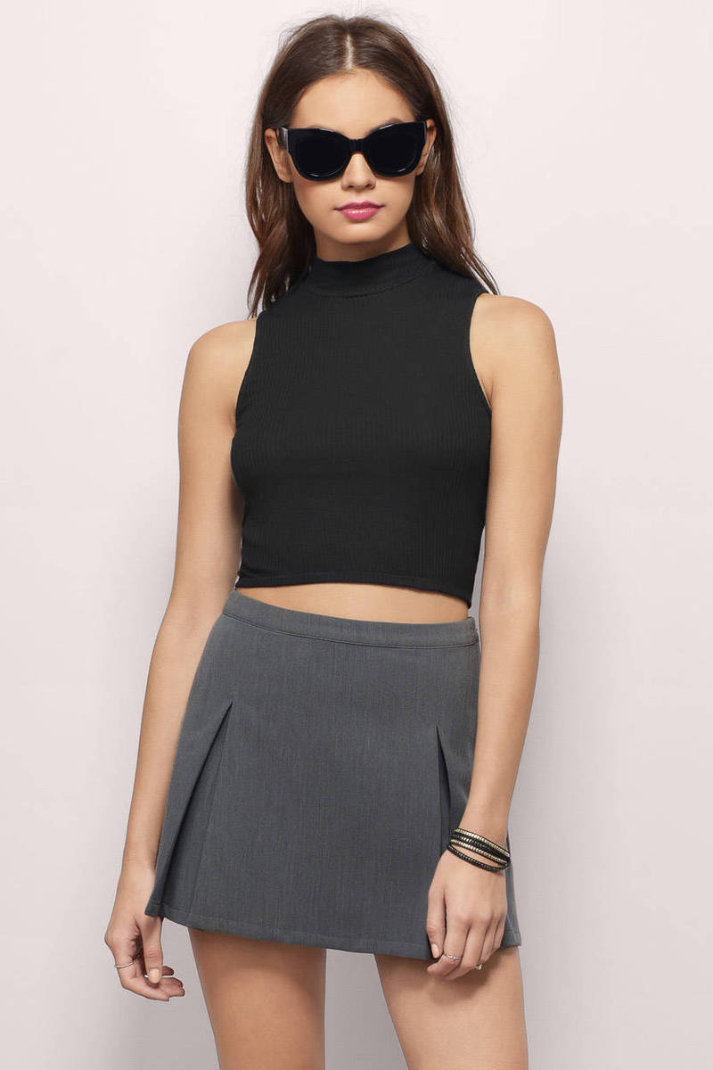 Ziva Ivory Crop Top