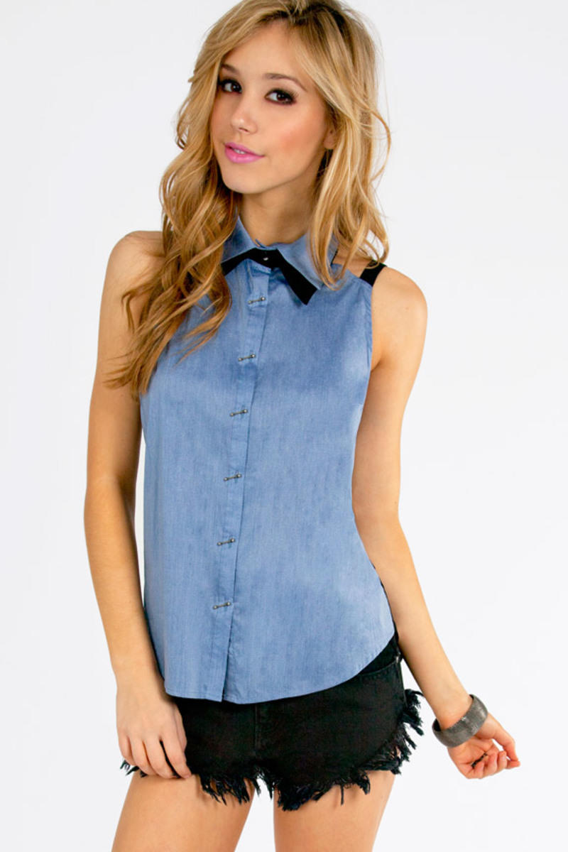Outback Button Down Top