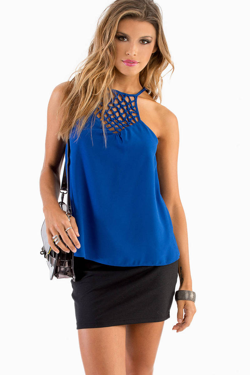 Caged Chest Cami