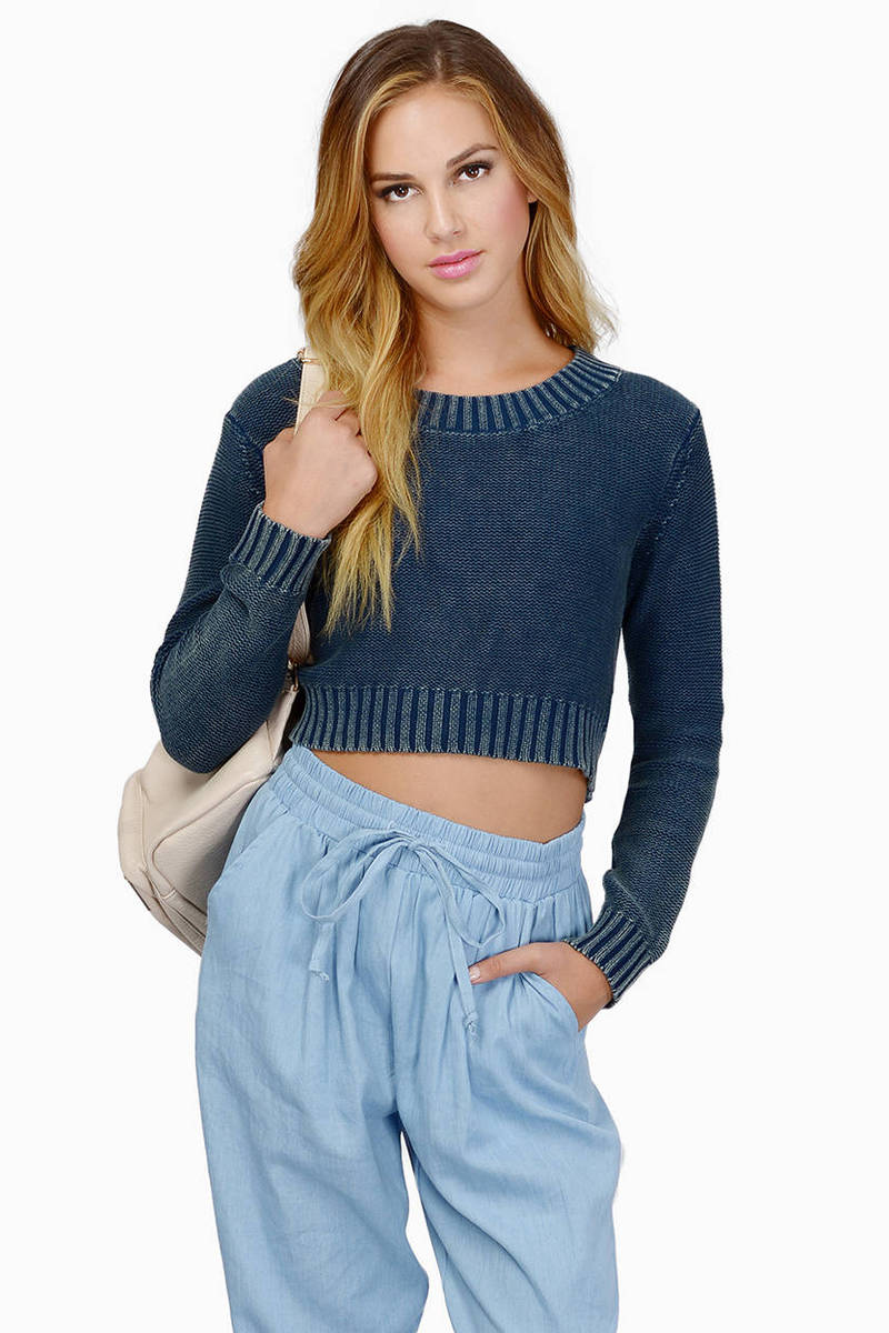 Cassie Blue Sweater
