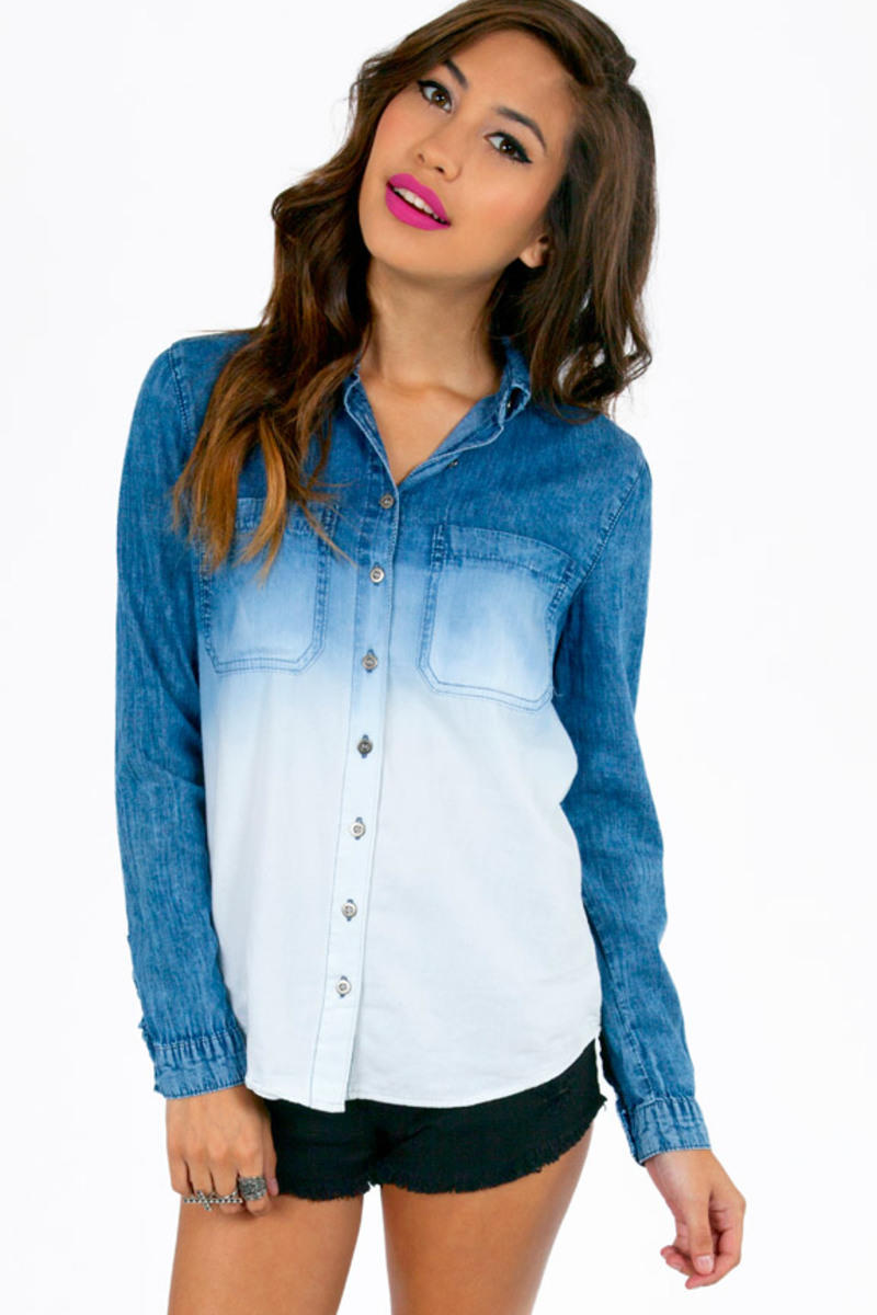 Adelie Button Up Top