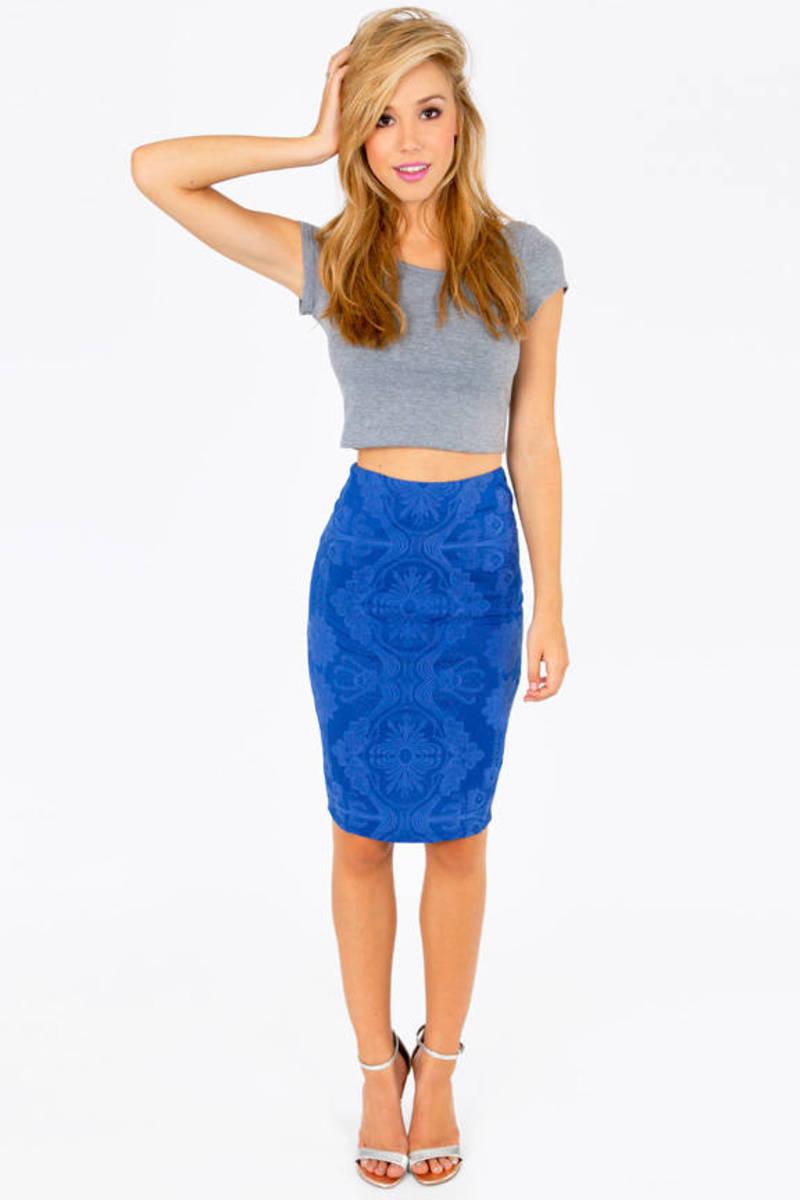 Emboss of Me Skirt