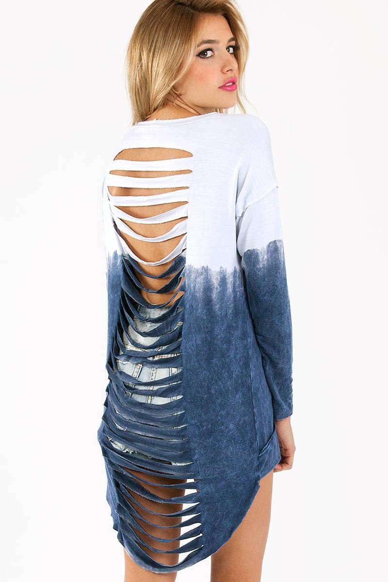 Back Slash My Ombre Shirt