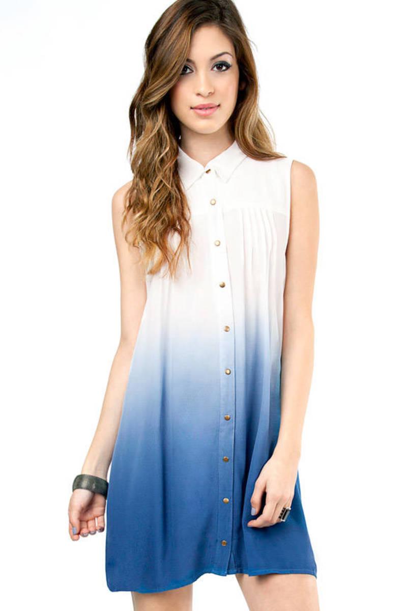 MINKPINK Great White Shirt Dress