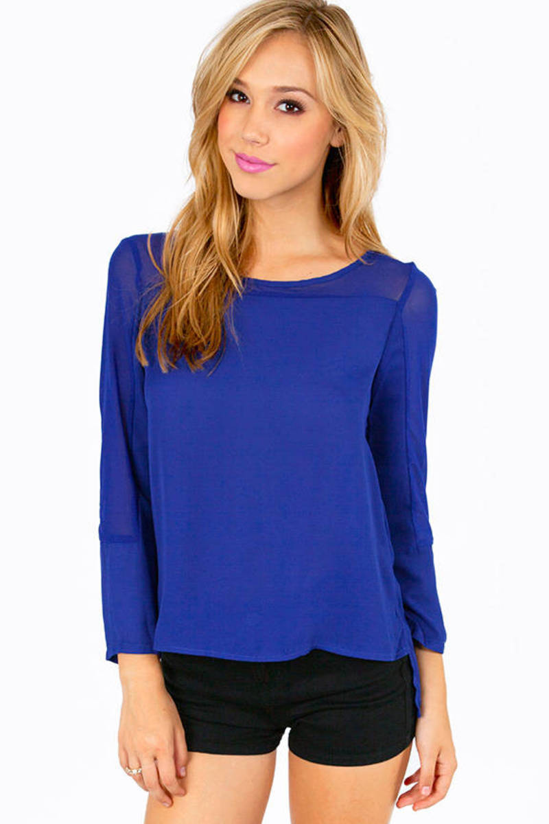 Molly Mesh Blouse
