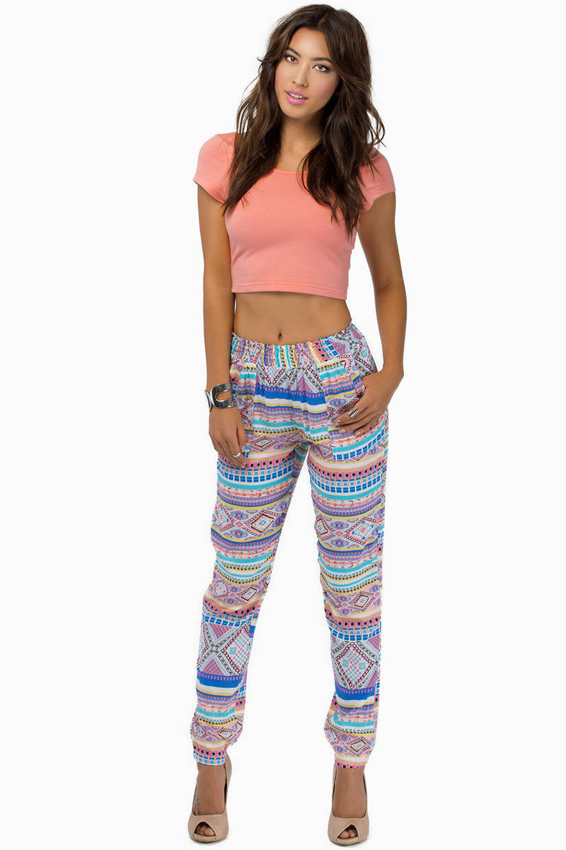 Daring Tribal Pants