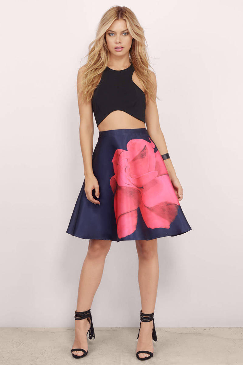 L'atiste Fleeting Love Skater Skirt