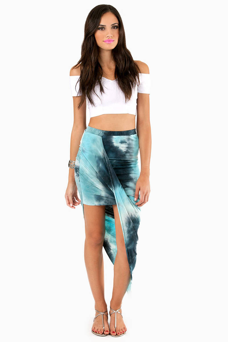 In Print Condition Skirt