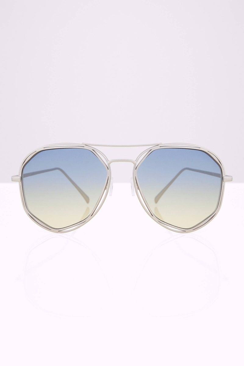 Cross My Mind Pink Gradient Aviators