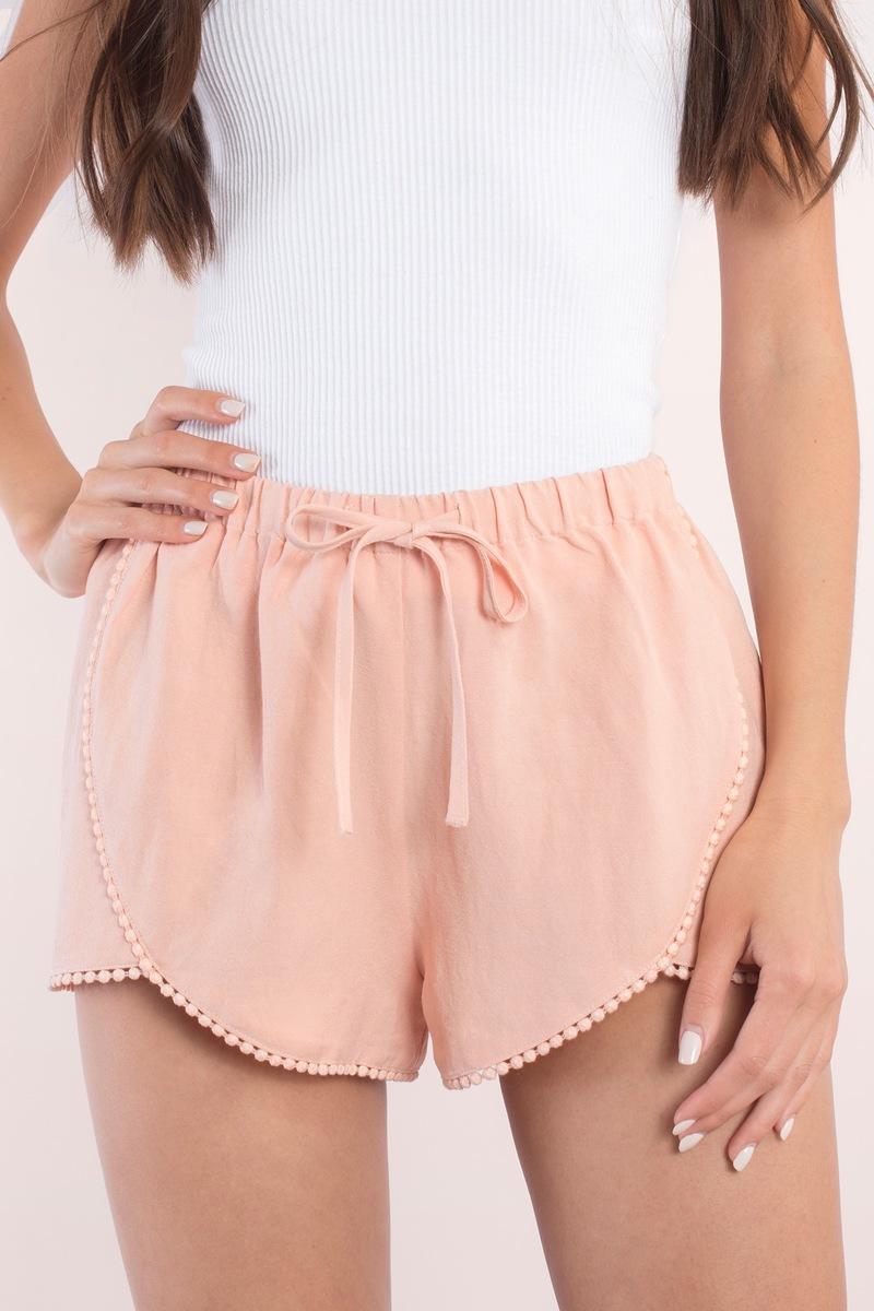 Bailey Blush Tulip Shorts