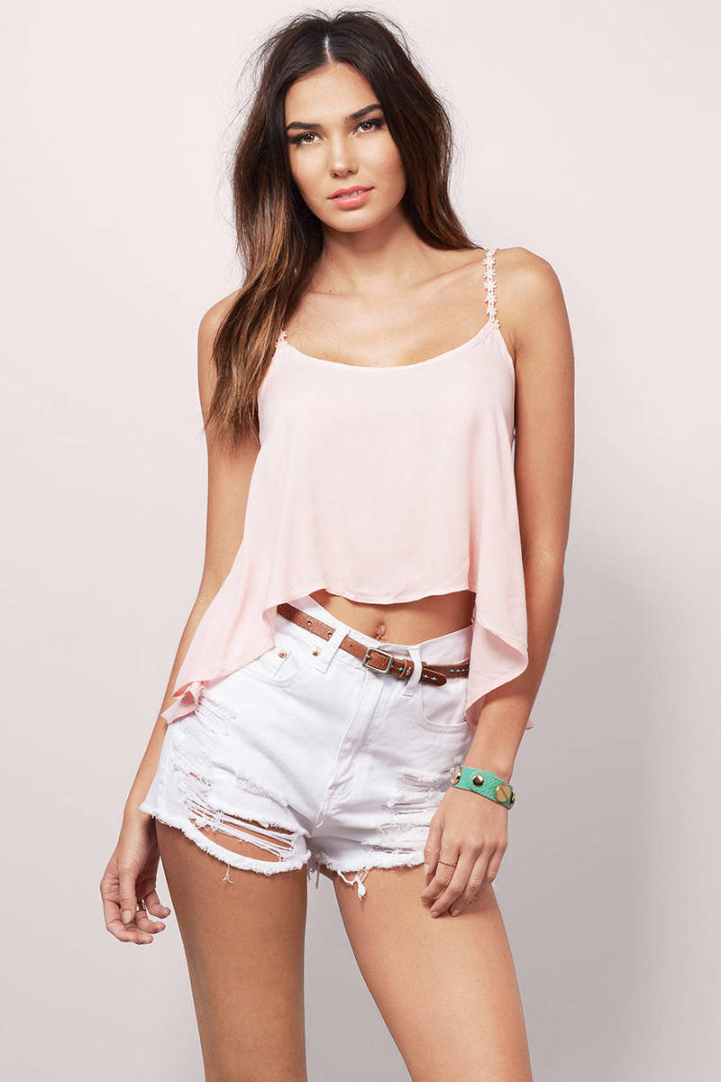 Bryn Blush Tank Top
