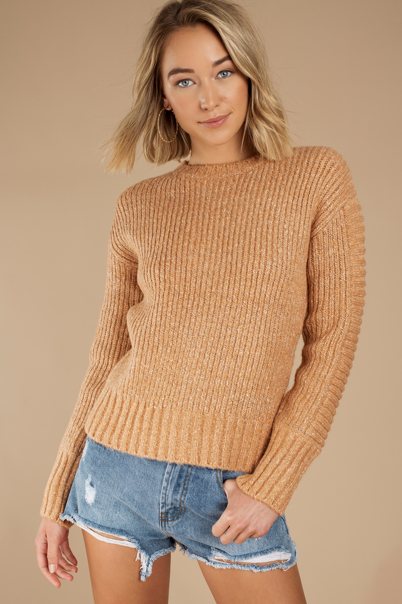MINKPINK Minkpink By The Fire Blush Knitted Sweater