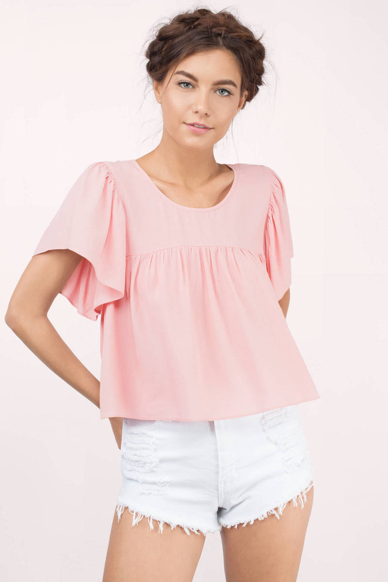Cecilia Blush Crop Top