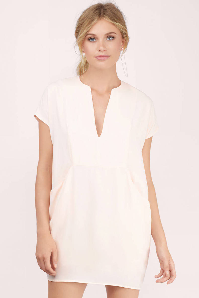 Current Affairs Blush Cocoon Dress
