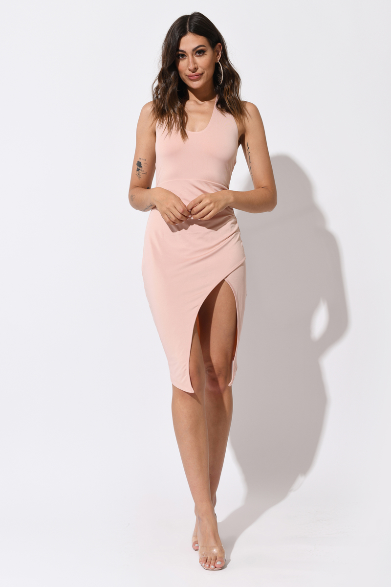 Desyree Olive Bodycon Dress