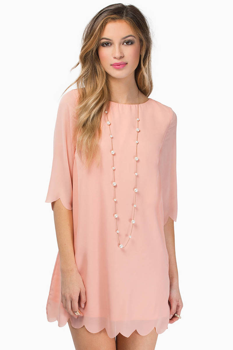 Ever So Scalloply Dress