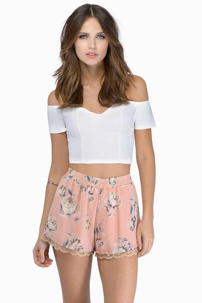 Floral Romance Shorts