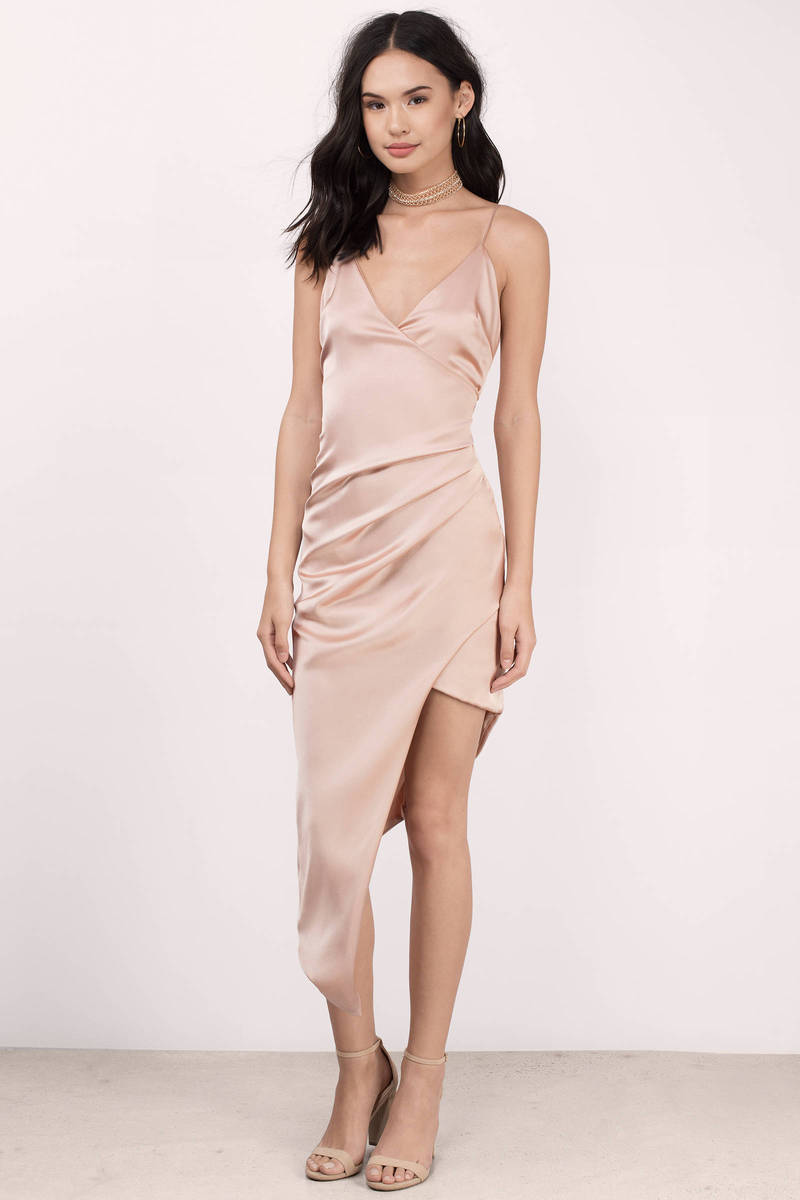 V-Neck Wrap Dress