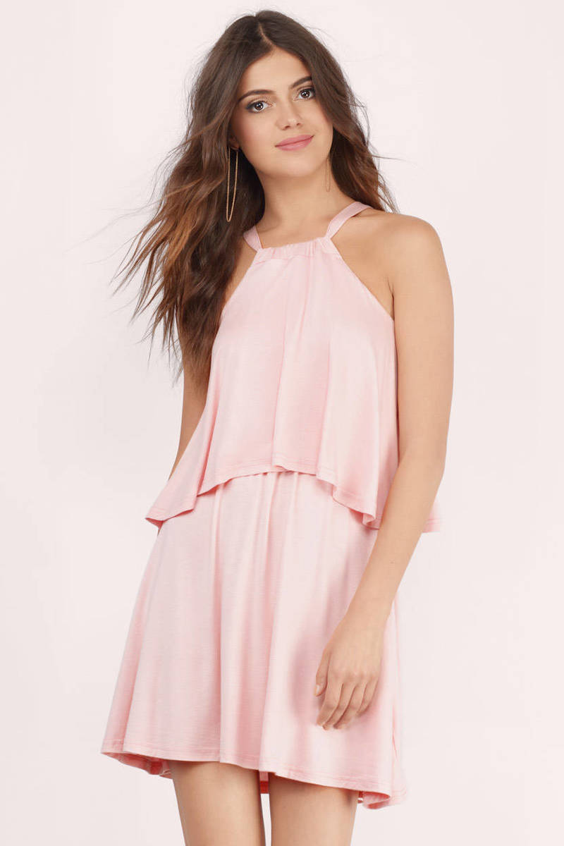 Leiluna Day Blush Day Dress