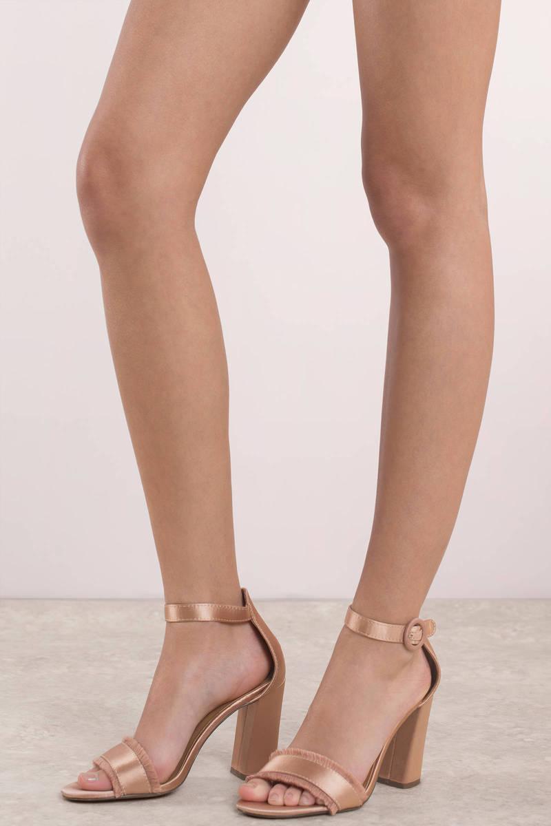 Linzi Phoenix Red Ombre Effect Stiletto Court Heels