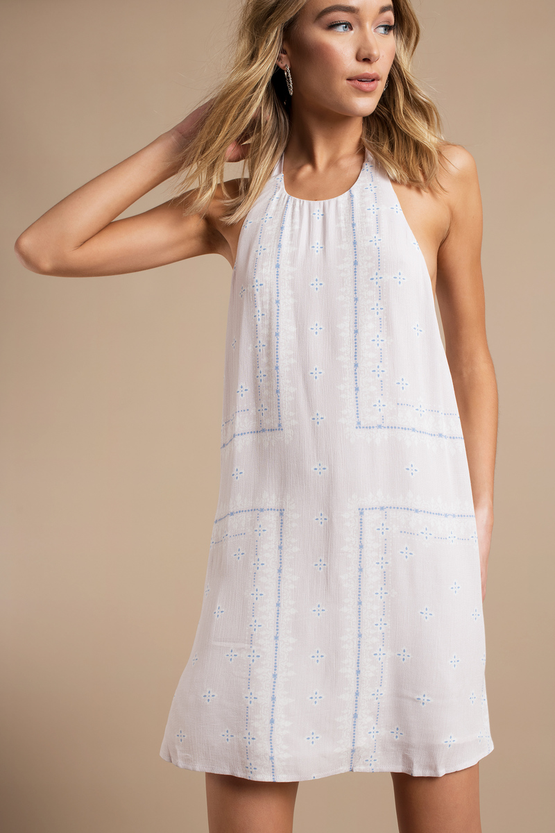Ashley Blush Multi Shift Dress - $74.00 | Tobi