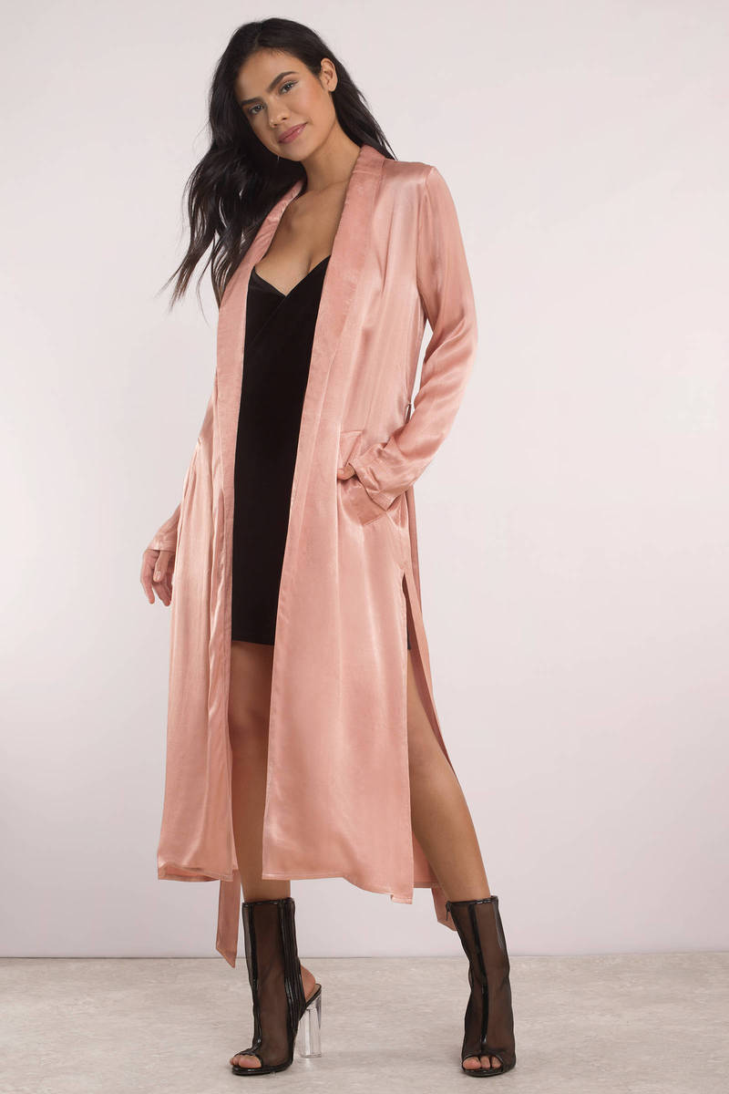 Cute Blush Cardigan - Long Sleeve - Open Front Cardigan - € 119 ...