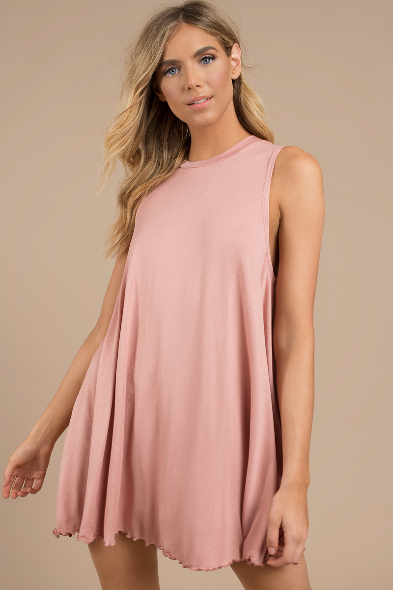 Shay Blush Shift Dress