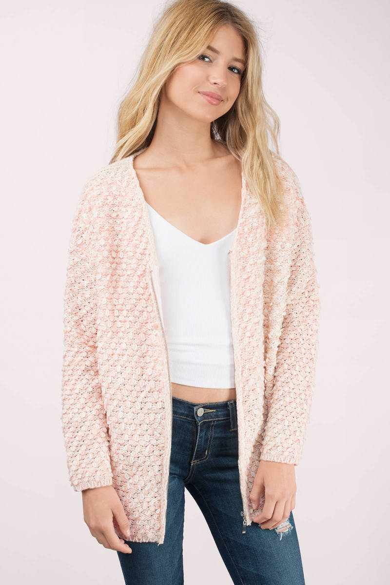 Blush Cardigan - Long Sleeve Cardigan