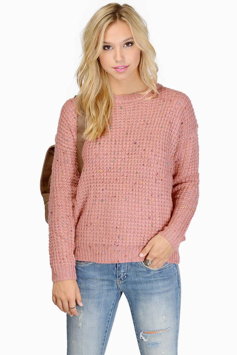 Soft Serve Blush Sweater