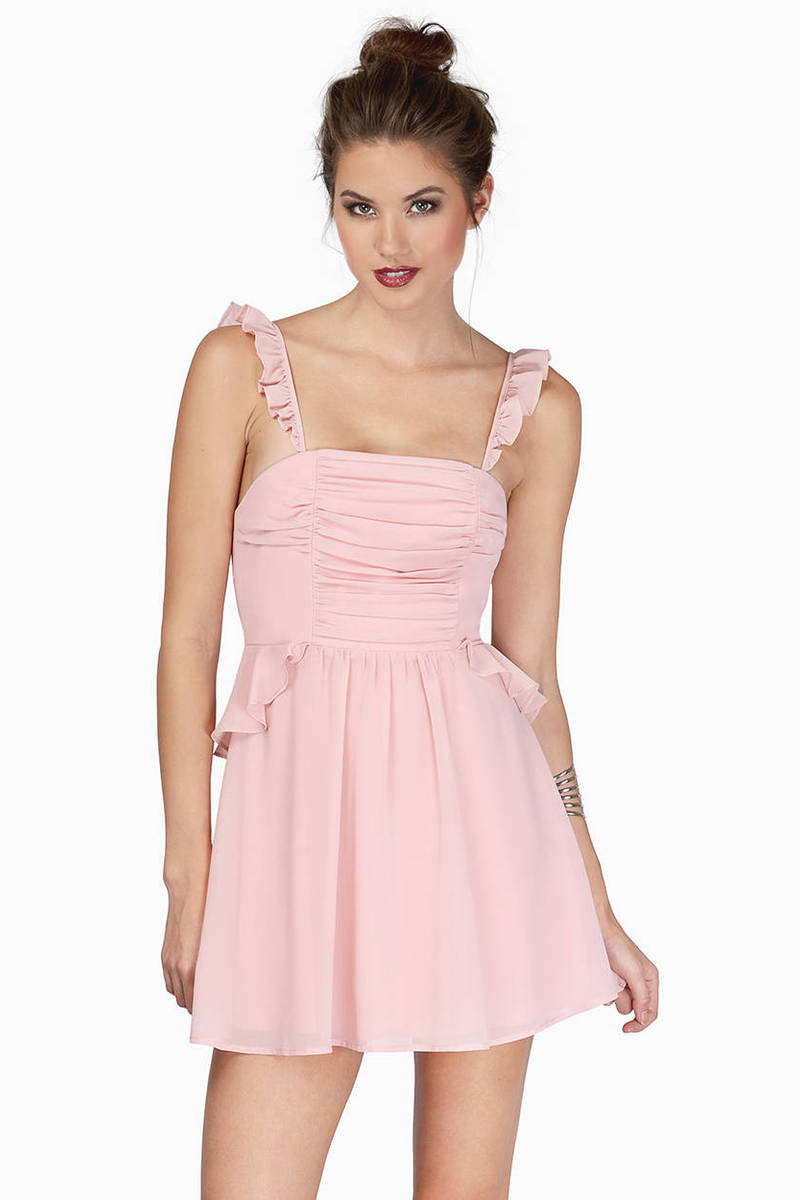 Sweet Ending Blush Bodice Dress