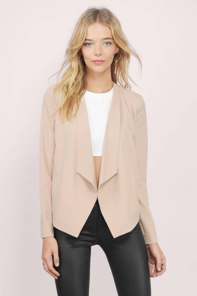 Sweet Sophistication Draped Blazer