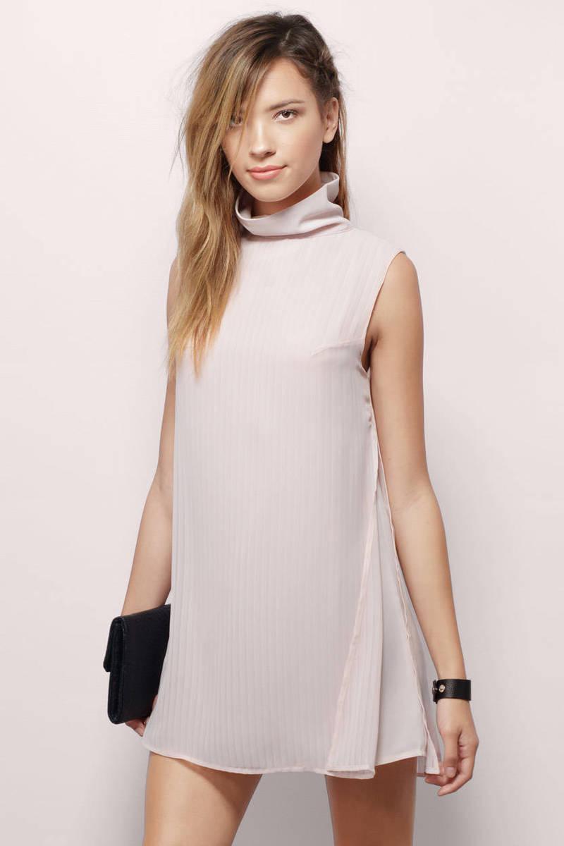 Twiggy Blush Shift Dress