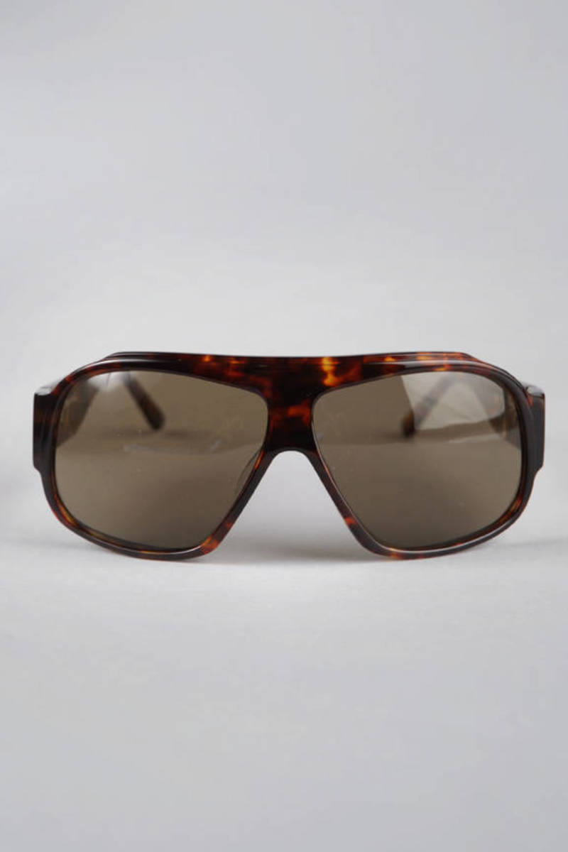 9482836249 Brown Hancock Sunglasses In Brown -  84