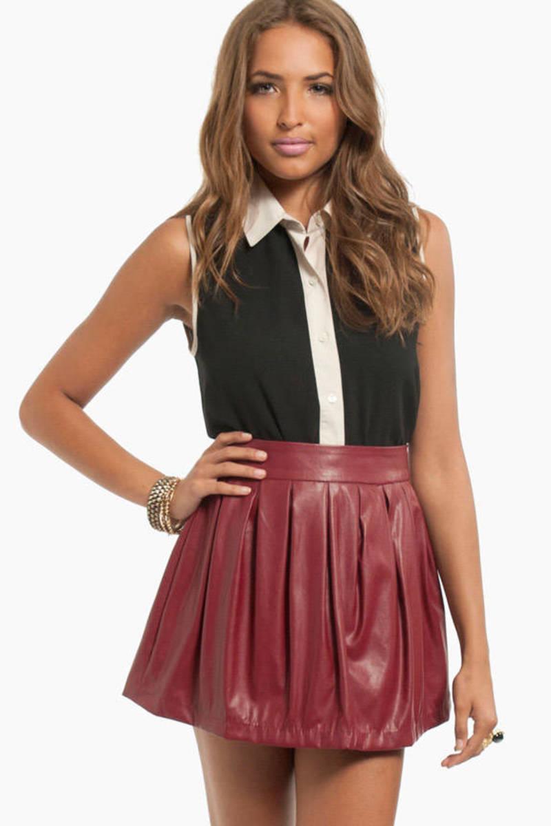 Amelie Pleated Skirt