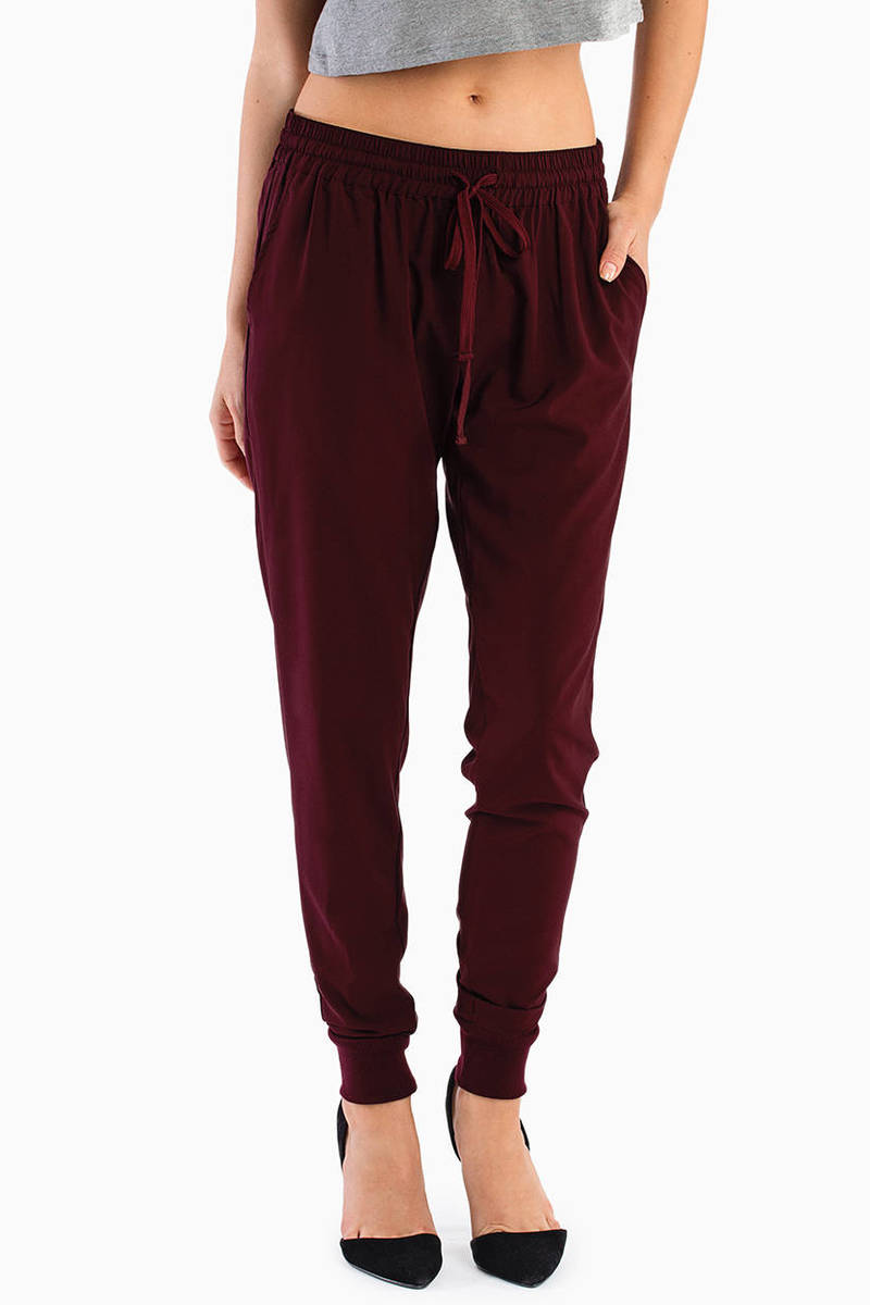 Infatuated Drawstring Pants