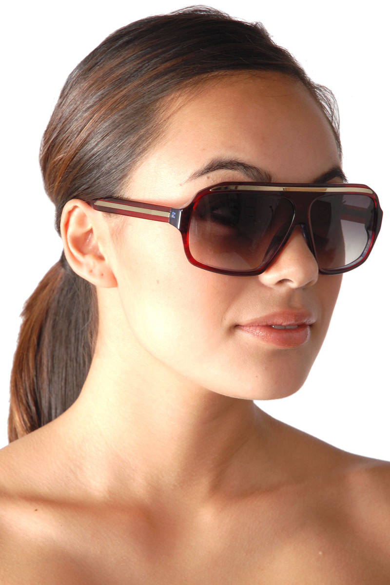 32cc1ef356 Red Old Sunglasses In Burgundy -  225