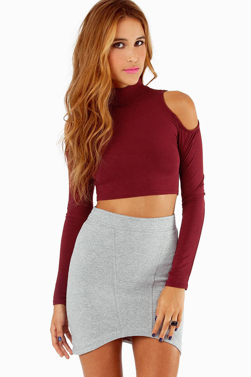 Open Book Crop Top