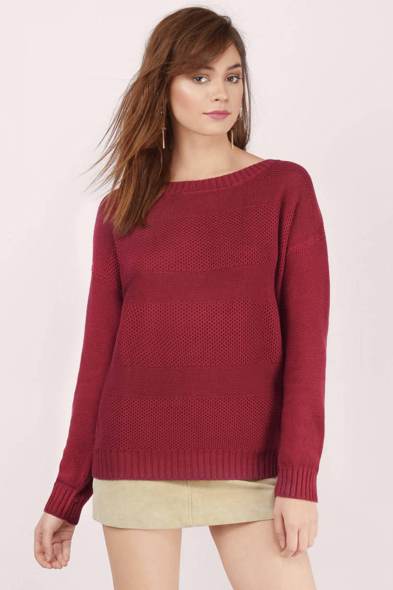 Find maroon sweater at ShopStyle. Shop the latest collection of maroon sweater from the most popular stores - all in one place.